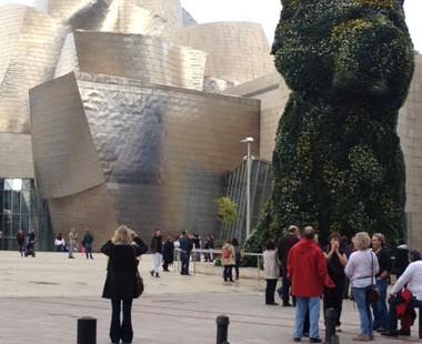 Jeff Koons Dog, Bilbao, Spain