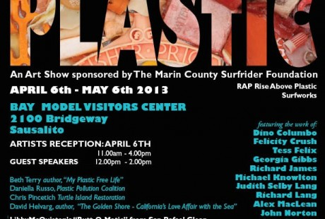 Tess Felix organized this show with Surfriders Foundation.